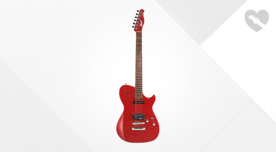 Full preview of Cort MBC-1 Red Sparkle