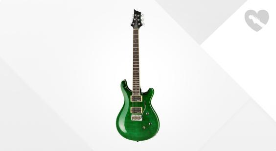 Full preview of Harley Benton CST-24T Emerald Flame B-Stock