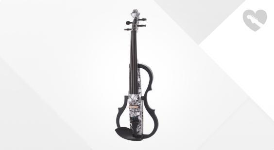 Full preview of Harley Benton HBV 990SKL 4/4 Electric Violin