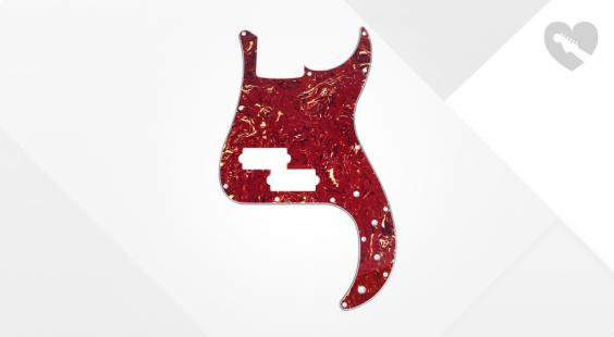 Full preview of Harley Benton Parts P-Style Pickguard TT