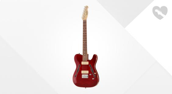"""Take the """"IS IT GOOD FOR ME"""" test for """"Harley Benton TE-90QM Trans Red"""", read the reviews and join the community!"""