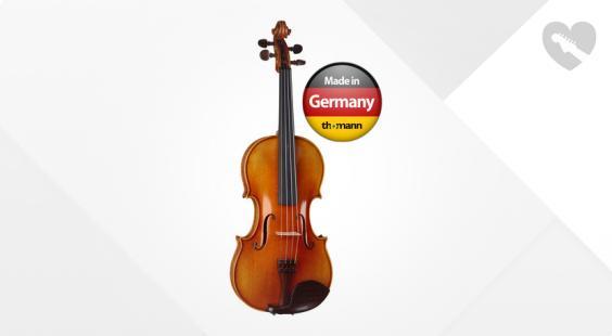 Full preview of Klaus Heffler Nr. 600L Lefthanded Violin 4/4