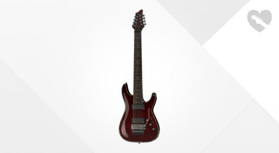 Full preview of Schecter Hellraiser C-8 FR Black Cherry