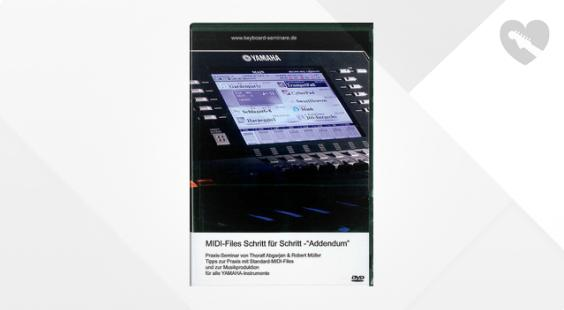 Full preview of Yamaha Midi-Files Schritt für Schritt