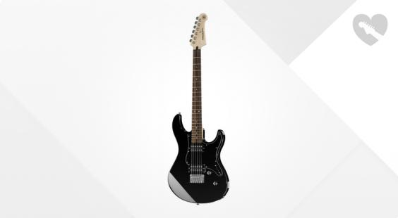 Full preview of Yamaha Pacifica 120H BK