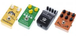Article photo - Top 10 Budget Electric Guitar Effects Pedals From Harley Benton