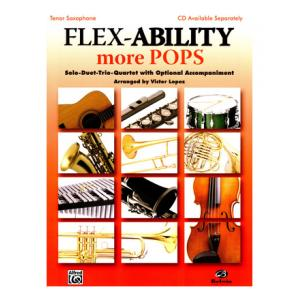 """Take the """"IS IT GOOD FOR ME"""" test for """"Alfred Music Publishing Flex-Ability More Pops T-Sax"""", read the reviews and join the community!"""