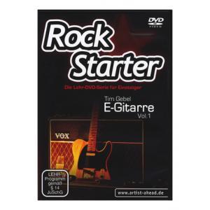 Is Artist Ahead Rock Starter E-Gitarre DVD 1 a good match for you?
