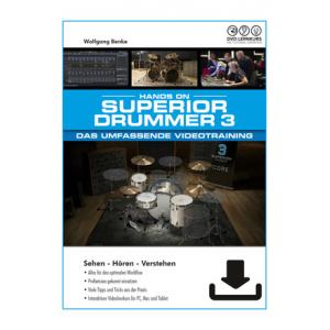 """Take the """"IS IT GOOD FOR ME"""" test for """"DVD Lernkurs Superior Drummer 3 Training"""", read the reviews and join the community!"""
