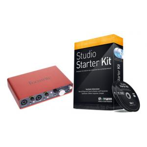 Is Focusrite Scarlett 2i4 Starter Bundle a good match for you?
