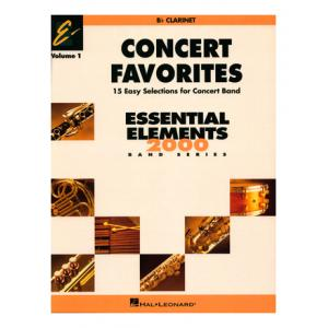 """Take the """"IS IT GOOD FOR ME"""" test for """"Hal Leonard Concert Favorites 1 Clarinet"""", read the reviews and join the community!"""