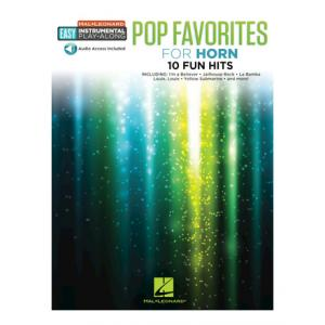 """Take the """"IS IT GOOD FOR ME"""" test for """"Hal Leonard Easy Pop Favorites Horn"""", read the reviews and join the community!"""
