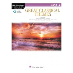"""Take the """"IS IT GOOD FOR ME"""" test for """"Hal Leonard Great Classical Themes Horn"""", read the reviews and join the community!"""