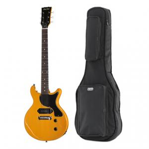 Is Harley Benton DC-Junior TV Yellow Bundle a good match for you?