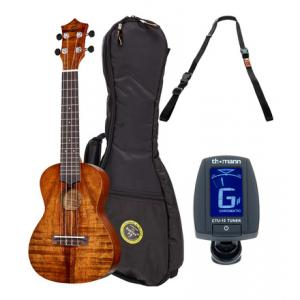 Is Harley Benton Koa Ukahuna Scout Ukulele Set a good match for you?
