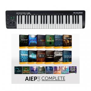 Is M-Audio Keystation 49 MK3 AIEP3 Bundle a good match for you?