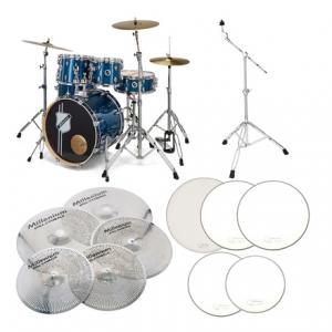 Is Millenium Hybrid Practice Drum Set BL a good match for you?