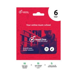 """Take the """"IS IT GOOD FOR ME"""" test for """"music2me Guitar Subscription 6 Months"""", read the reviews and join the community!"""