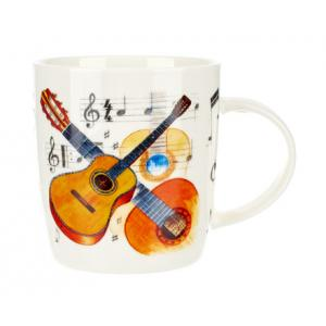 """Take the """"IS IT GOOD FOR ME"""" test for """"Music Sales Noble Coffee Mug Guitar"""", read the reviews and join the community!"""