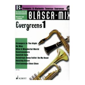 """Take the """"IS IT GOOD FOR ME"""" test for """"Schott Bläser-Mix Evergreens Vol.1 Bb"""", read the reviews and join the community!"""