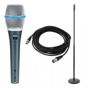 Is Shure Beta 87a  Elegance Bundle a good match for you?