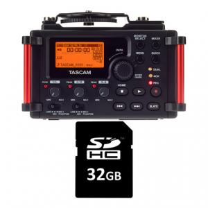 Is Tascam DR-60D MkII Card Bundle a good match for you?