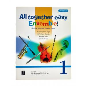 """Take the """"IS IT GOOD FOR ME"""" test for """"Universal Edition All Together Easy Ensemble 1"""", read the reviews and join the community!"""