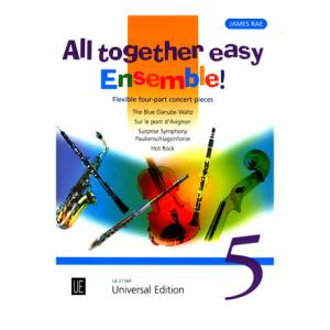 """Take the """"IS IT GOOD FOR ME"""" test for """"Universal Edition All Together Easy Ensemble 5"""", read the reviews and join the community!"""